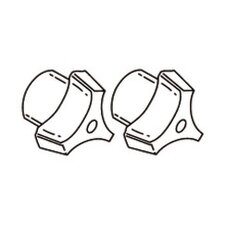 Commercial Tri-Blade Replacement Handles (Set of 2)