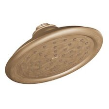 "Showering Acc Premium One-Function 7"" Diameter Rainshower Showerhead"