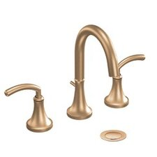 Icon Double Handle Widespread High Arc Bathroom Faucet