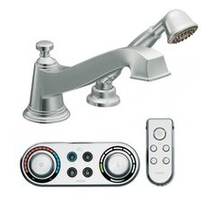 Rothbury Low Arc Roman Tub Faucet with Hand Shower Iodigital Technology