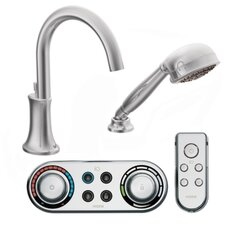 <strong>Moen</strong> Icon High Arc Roman Tub Faucet with Hand Shower