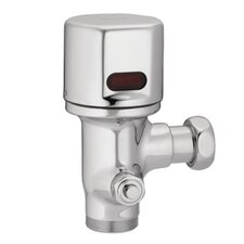 M-Power Closet Battery Powered Sensor-Operated Electronic Flush Valve