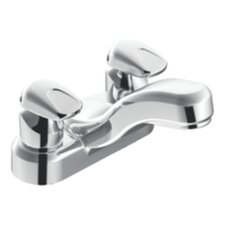 <strong>Moen</strong> Commercial Centerset Bathroom Faucet with Double Handles