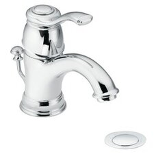 <strong>Moen</strong> Kingsley Single Hole Bathroom Faucet with Single Lever Handle