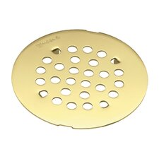 "Kingsley 4.25"" Snap-In Shower Drain Cover"