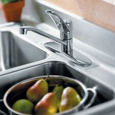 <strong>Moen</strong> Chateau One Single Centerset Kitchen Faucet with Loop Handle