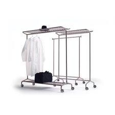 Nox Vesta Clothes Rail on Castors