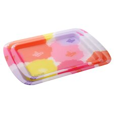 Dahlia Rectangular Serving Tray
