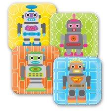 Robot Kids Plate