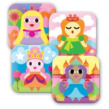 <strong>French Bull</strong> Princess Kids Plates (Set of 4)