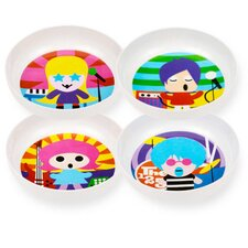 Rock Star Kids Bowls (Set of 4)