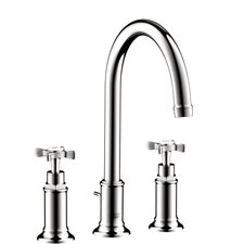Axor Montreux Widespread Faucet with Cross Handle