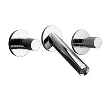 Axor Starck Widespread Wall Mounted Trim Faucet