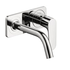 <strong>Hansgrohe</strong> Axor Citterio M Single Handle Wall Mounted with Baseplate