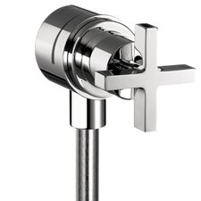 <strong>Hansgrohe</strong> Axor Citterio Fix Fit Wall Outlet with Cross Handle