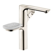 Axor Urquiola Single Hole Faucet with Soap Dish and Tumbler