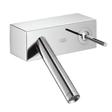Axor Starck X Wall-Mounted Single Handle Bathroom Faucet in Chrome