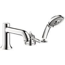 Talis C Single Handle Dual Function Roman Tub Faucet and Hand Shower