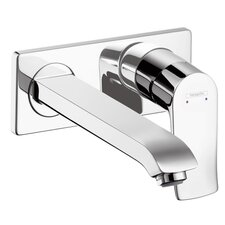 Metris E Single Handle Wall Mounted Faucet