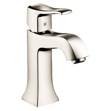 <strong>Hansgrohe</strong> Metris C Single Hole Bathroom Faucet with Single Lever Handle
