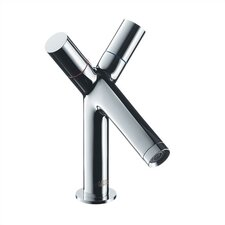 <strong>Hansgrohe</strong> Axor Starck Single Hole Bathroom Faucet with Double Handles