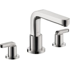 Metris Double Handle Deck Mount Roman Tub Faucet Trim Lever Handle