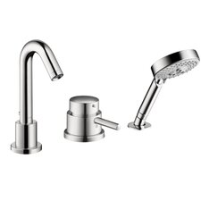 Talis S Single Handle Dual Function Roman Tub Faucet and Hand Shower