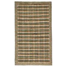 Border Chindi Green Rug
