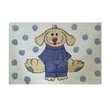 Dress Up Pup Bath Mat