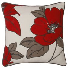 Ella Floral Cotton Pillow
