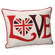 <strong>Jovi Home</strong> Retro Love Cotton Pillow