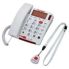Big Button Telephone with Emergency Key and Remote Pendant