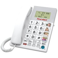 Big Button Telephone with Emergency Key and 4 Photo Speed Dial Keys