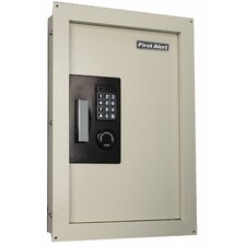 <strong>First Alert</strong> Anti-Theft Digital Electronic Lock Wall Safe [0.43 CuFt]