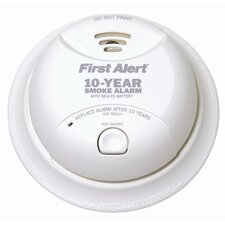 Power Cell Smoke Detector in White