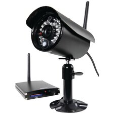 Digital Wireless Video Recording 4-Camera Surveillance System