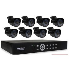 DCA8810-520 SmartBridge Indoor/Outdoor 8-Channel DVR Video Security System