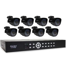 DCA16810-520 SmartBridge Indoor/Outdoor 16-Channel DVR Video Security System