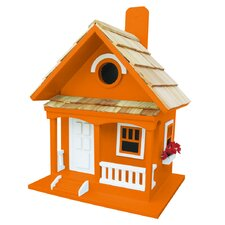 Birds Of A Feather Tangerine Cottage Birdhouse