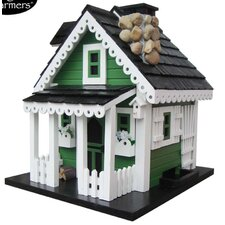 Cottage Charmer Series Greeneries Decorative Bird Feeder