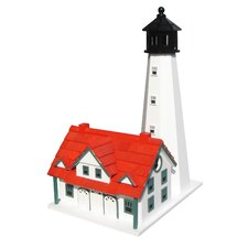 Historic Reproductions Portland Head Lighthouse Free Standing Birdhouse