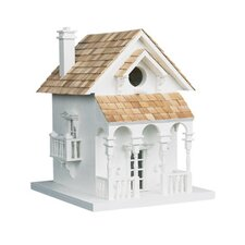 <strong>Home Bazaar</strong> Signature Series 'Honeymoon Cottage' Birdhouse with Bracket