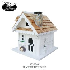 Cottage Charmer Series Tranquility Freestanding Birdhouse