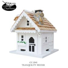 <strong>Home Bazaar</strong> Cottage Charmer Series Tranquility Bird Feeder