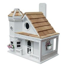 Fledgling Series Flower Pot Cottage Mounted Birdhouse