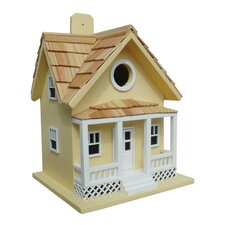 Fledgling Series Beachside Cottage Mounted Birdhouse