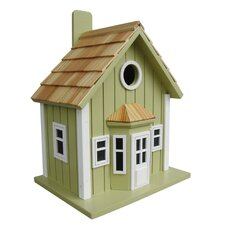 Fledgling Series Parkside Cottage Mounted Birdhouse