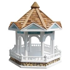 <strong>Home Bazaar</strong> Designs By Ken Sobel Bandstand Gazebo Bird Feeder
