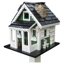 Cottage Charmer Series Greeneries Freestanding Birdhouse