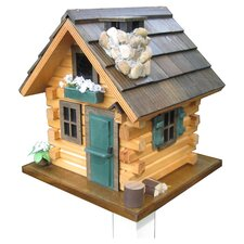 <strong>Home Bazaar</strong> Cottage Charmer Series Country Comfort Free Standing Birdhouse